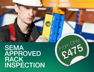 SEMA Approved rack inspectionj